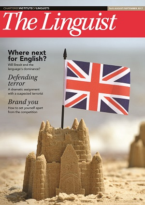 The Linguist 56,4 cover