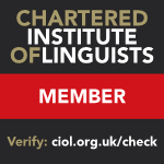 Qualified Translator, Member of ITI