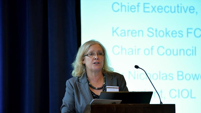 Institute Matters – Ann Carlisle, CIOL Chief Executive