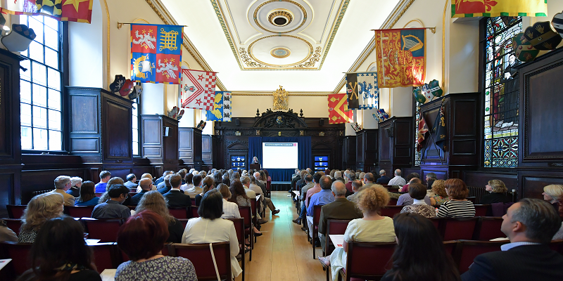 Members and guests at Stationers' Hall