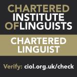 Chartered Linguist logo
