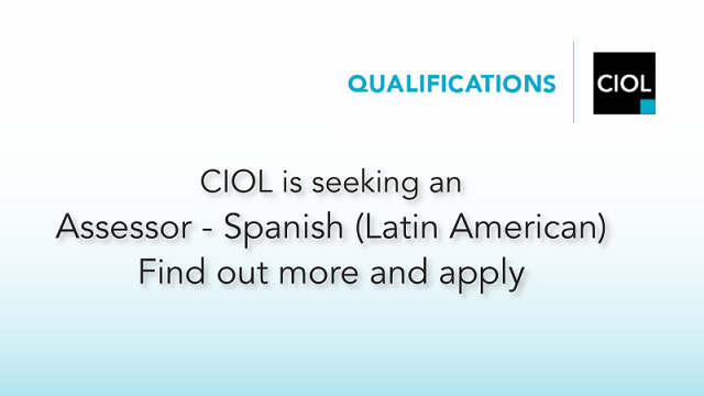 CIOL (Chartered Institute of Linguists)