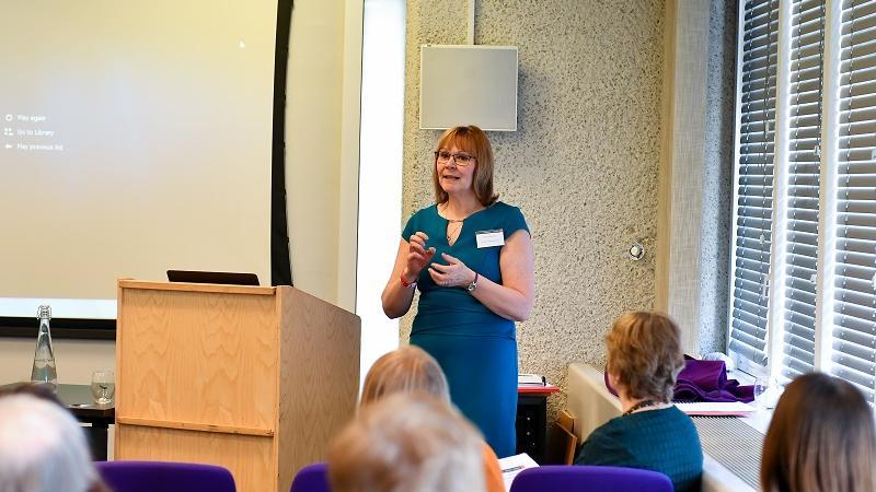 Jane Galbraith presents a session on Professionalism